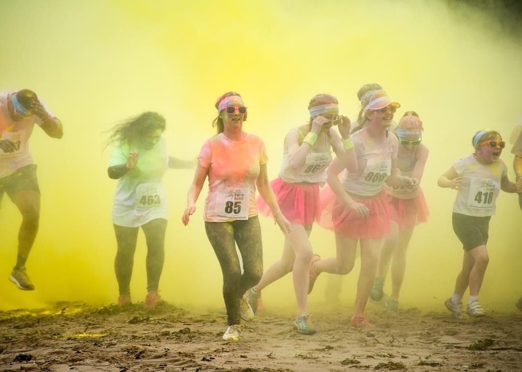 Trinity Hospice's Colour Splash event in 2017