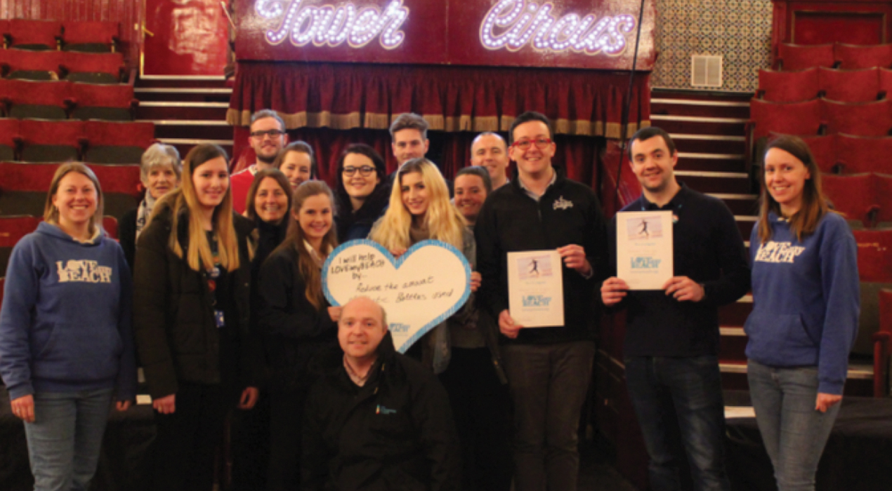 Merlin group in Blackpool, who have signed up to be a LOVEmyBEACH business
