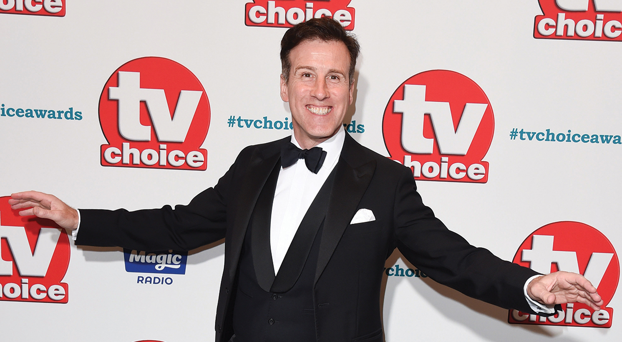 Anton Du Beke at the TV Choice Awards 2018 at the Dorchester Hotel, London. Picture: Steve Vas/Featureflash