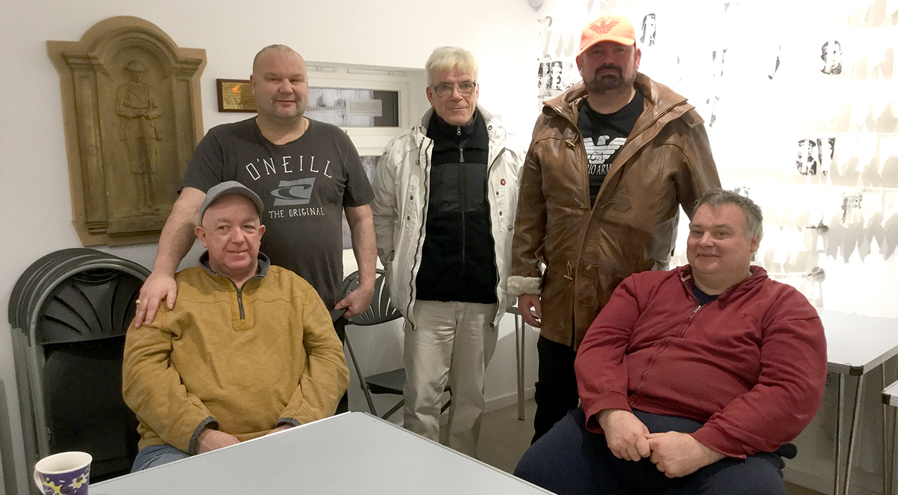 Men in Sheds Fleetwood Jan 2019